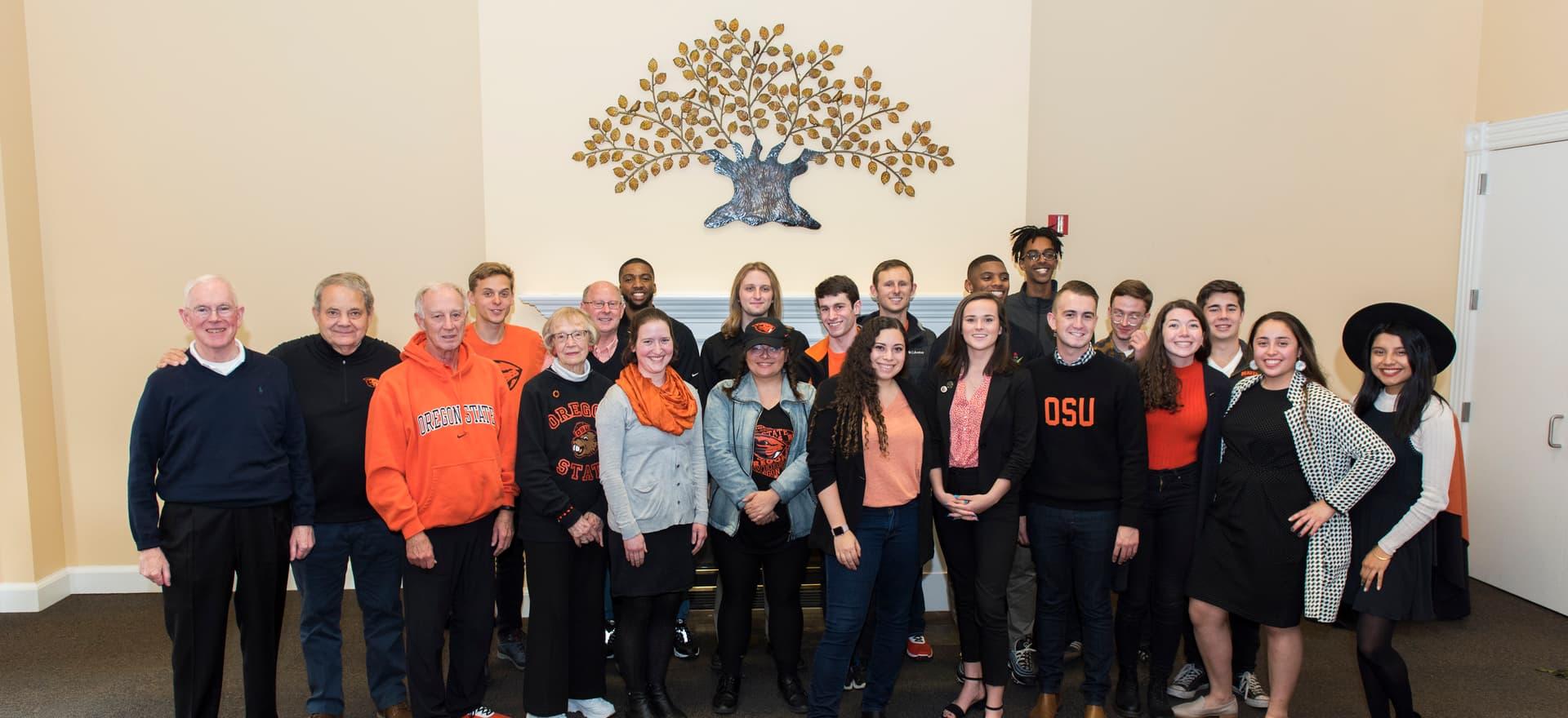 Group photo, Beaver Caucus Alumni and Friend Gathering