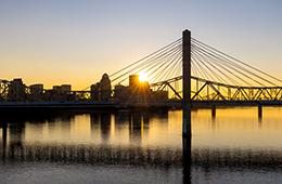 Louisville view of bridge
