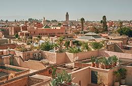 Morrocco city view