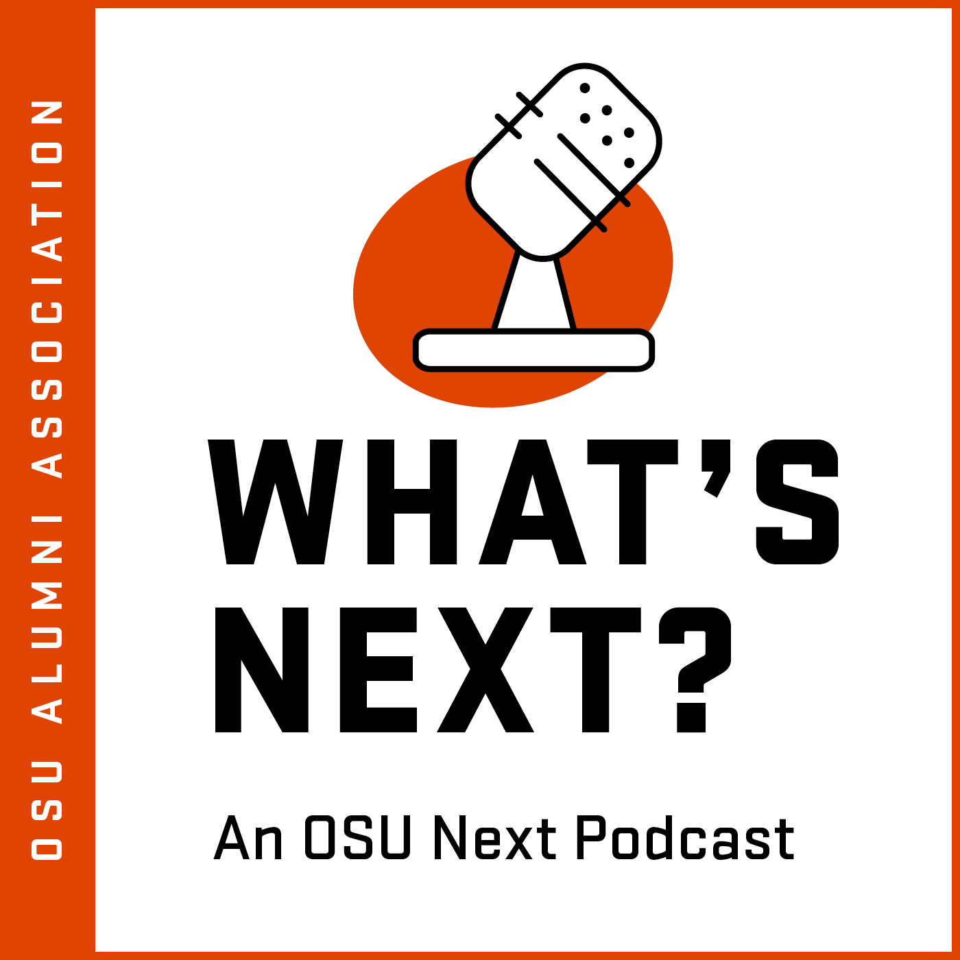 What's Next podcast logo